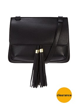 v-by-very-double-tassel-x-body-bag