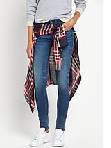 Lynn Mid Rise Super Stretch Skinny Jean