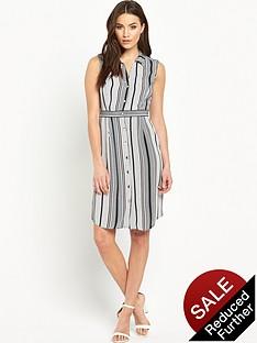v-by-very-sleeveless-stripe-shirt-dress
