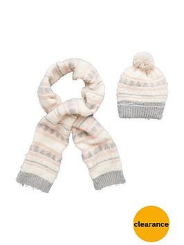 v-by-very-girls-eyelash-knitted-scarfnbspand-hat-set
