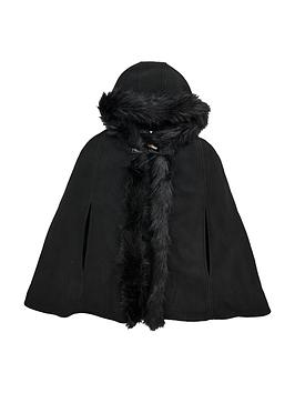 v-by-very-girls-fleece-hooded-cape