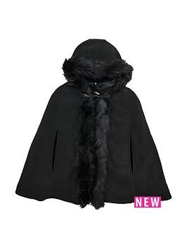 v-by-very-girls-fleece-hooded-cape