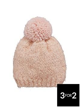 v-by-very-girls-eyelash-knit-pom-pom-beanie