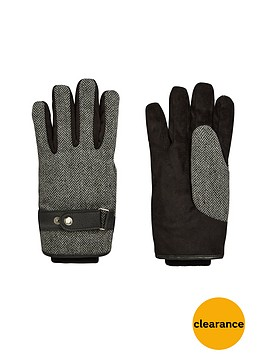 v-by-very-mens-herringbone-gloves