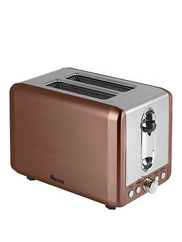 swan-2-slice-toaster-copper