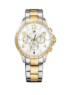 tommy-hilfiger-tommy-hilfiger-silver-dial-bi-colour-bracelet-ladies-chronograph-watch