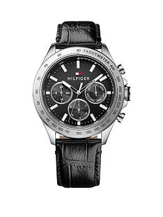 tommy-hilfiger-tommy-hilfiger-black-dial-black-leather-strap-mens-chronograph-watch