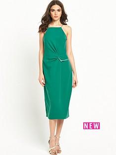 warehouse-shoestring-crepe-dress