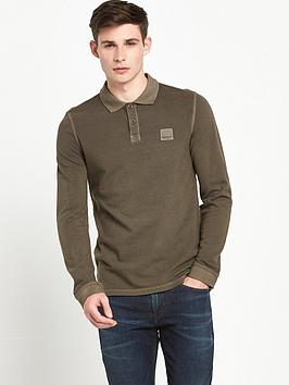 boss-orange-long-sleeve-pascha-polo-shirt-khaki