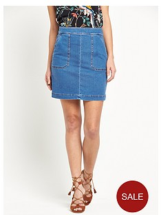 warehouse-pocket-detail-denim-skirt