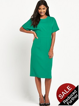 warehouse-wrap-back-belted-dress