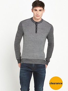 boss-orange-knitted-henley-top-black
