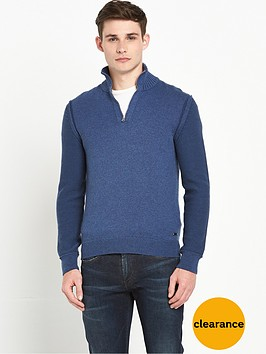 boss-orange-knitted-zip-neck-jumper-india-ink