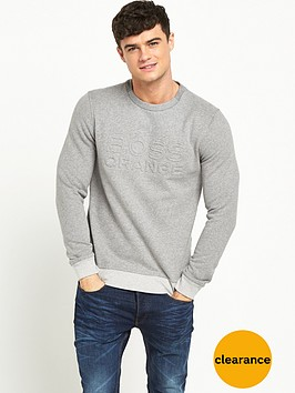 boss-orange-embossed-crew-necknbspsweatshirt