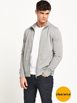 boss-orange-full-zip-sweat-grey