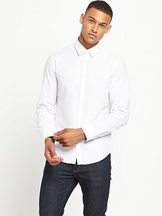 boss-green-long-sleeve-small-logo-shirt