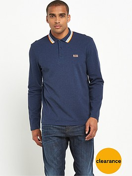 boss-green-tipped-ls-polo