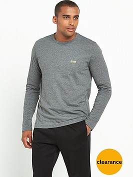 boss-green-long-sleeve-crew-neck-t-shirt