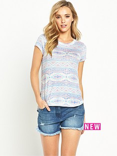 v-by-very-loose-knit-jersey-tshirt