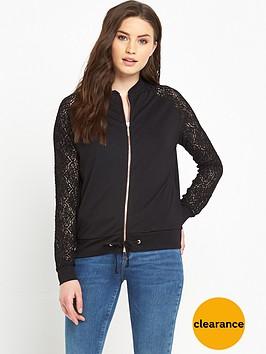 v-by-very-lace-sleeve-jersey-bomber-jacket
