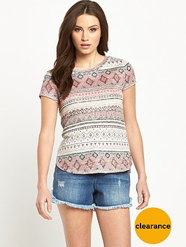 v-by-very-loose-knit-jersey-t-shirt