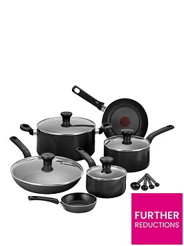 tefal-excite-7-piece-aluminium-pan-set-in-black