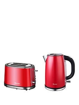 swan-kettle-and-2-slice-toaster-pack-red