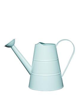 living-nostalgia-23-litre-steel-watering-can-in-blue