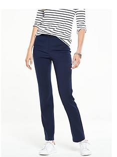 v-by-very-stitch-waistband-detail-slim-leg-trouser-navy