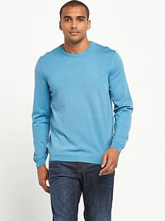 boss-green-merino-crew-neck-jumper