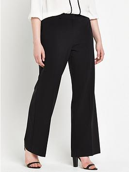 V By Very Curve Basic Wide Leg Trouser