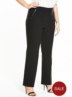 so-fabulous-straight-leg-pu-pocket-trim-trousersnbsp