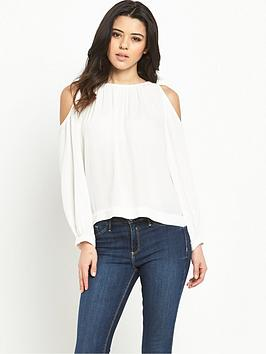 vero-moda-frida-button-cold-shoulder-topnbsp
