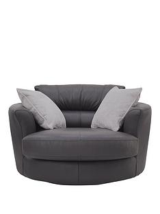 sandy-premium-leather-swivel-chair