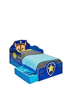 Paw Patrol Toddler Bed With Storage By HelloHome