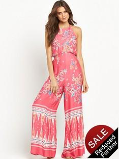 mink-pink-dreamstatenbspprinted-halter-neck-beach-jumpsuit
