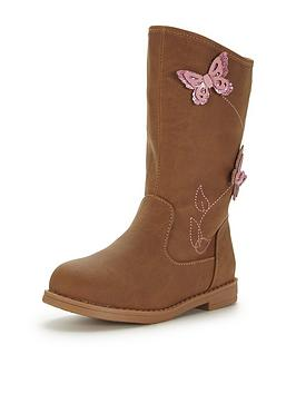 mini-v-by-very-matilda-younger-girls-butterfly-applique-boots