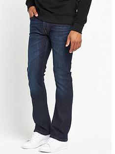 lee-trenton-slim-boot-cut-jeans-deep-plunge