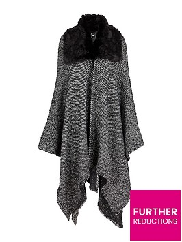 v-by-very-faux-fur-trim-collar-boucle-cape
