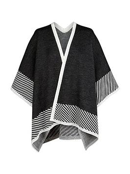 v-by-very-knitted-border-cape