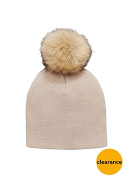 v-by-very-fine-knit-pom-pom-beanie