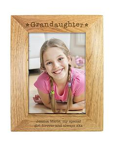 personalised-grandaughter-wooden-photo-frame-small