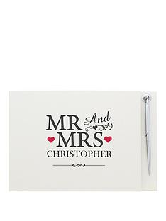 personalised-mr-amp-mrs-guest-book