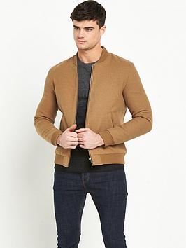 selected-homme-henley-bomber-jacket