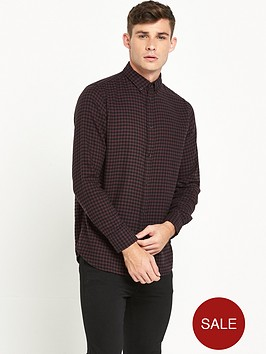 selected-homme-gingham-brushed-check-shirt
