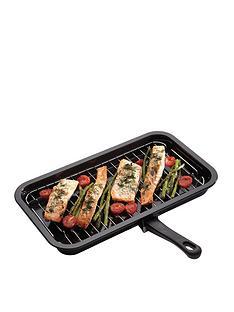 kitchencraft-non-stick-enamel-grill-pan