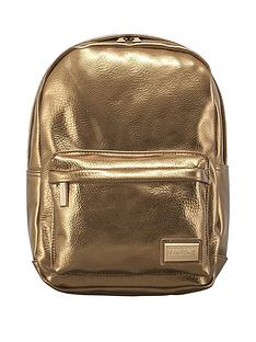 redland-pantone-pu-metallic-backpack-gold