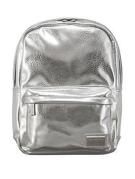 redland-pantone-pu-metallic-backpack-silver