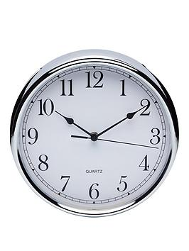 kitchencraft-stainless-steel-clock--nbsp25cm