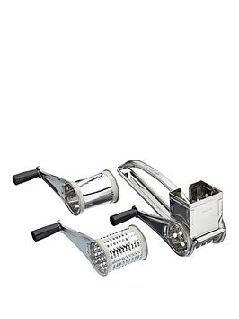 kitchencraft-stainless-steel-rotary-grater